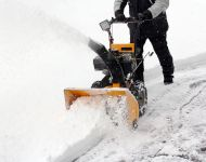 "SAVE YOUR FINGERS: SNOW-BLOWER DANGER (even when ""off"")"